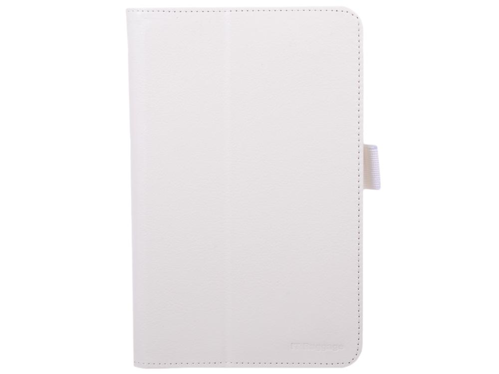 Чехол IT BAGGAGE для планшета LENOVO Idea Tab A7-50 (A3500) 7 искус. кожа белый ITLNA3502-0 чехол it baggage для планшета lenovo idea tab 3 tb3 730x 7 черный itln3a705 1