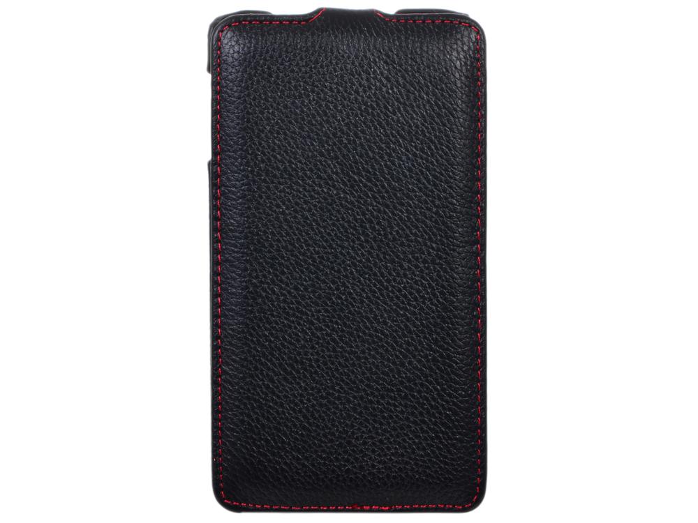 Чехол - книжка iRidium для Samsung Galaxy Note III/ N9000 (черный), натуральная кожа