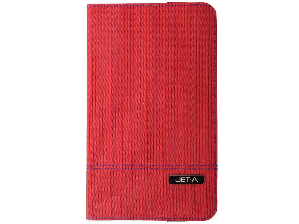 Чехол Jet.A SC8-7 для Samsung GT4 8 Цвет - Красный