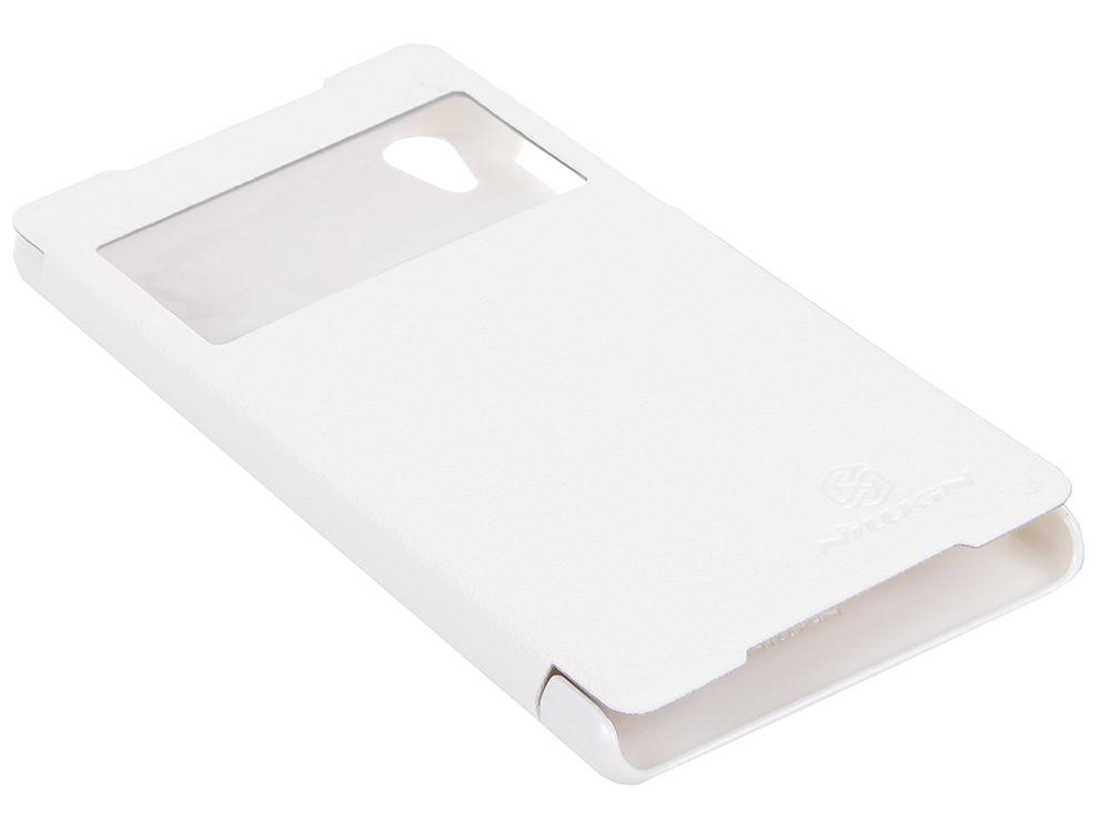 Чехол для смартфона Sony Xperia Z2 (L50/D6503) Nillkin Fresh series leather case Белый