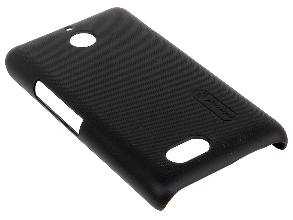 Чехол для смартфона Sony Xperia E1 Nillkin Super frosted shield Черный чехлы для телефонов nillkin htc desire 320 nillkin super frosted shield