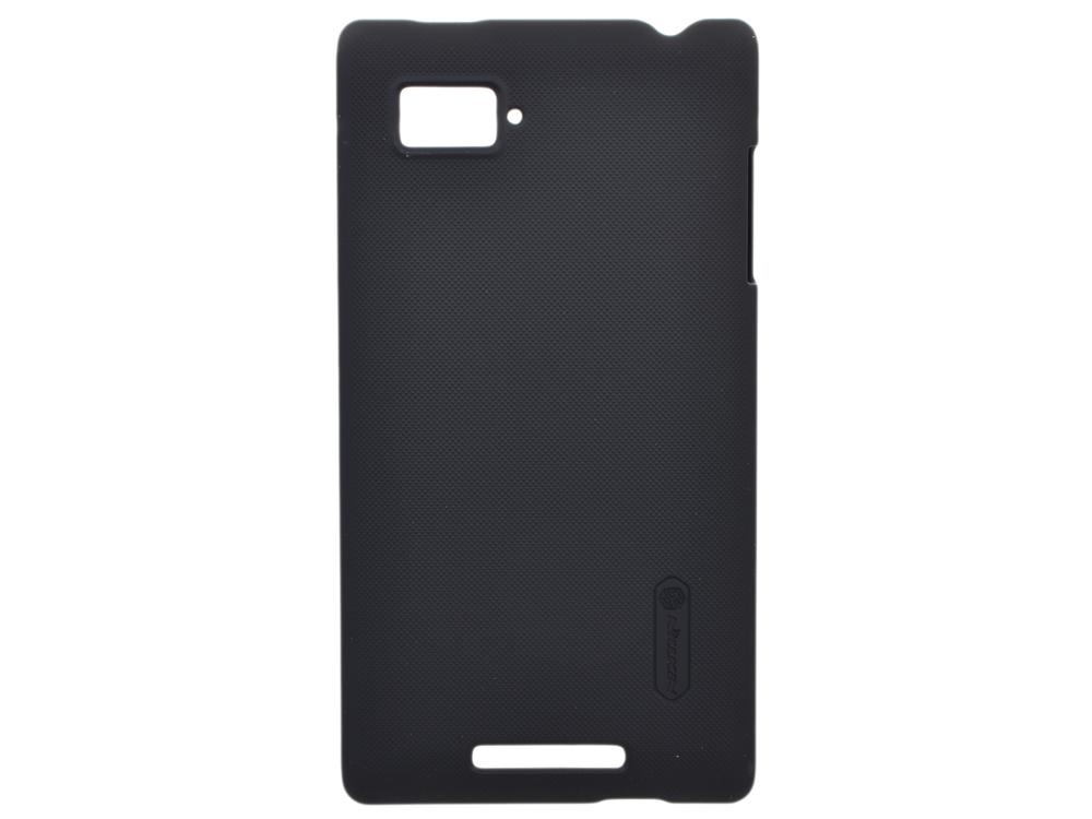 Чехол для смартфона Lenovo K910 (VIBE Z) Nillkin Super Frosted Shield Черный чехол для lenovo ideaphone k910 vibe z ibox premium black