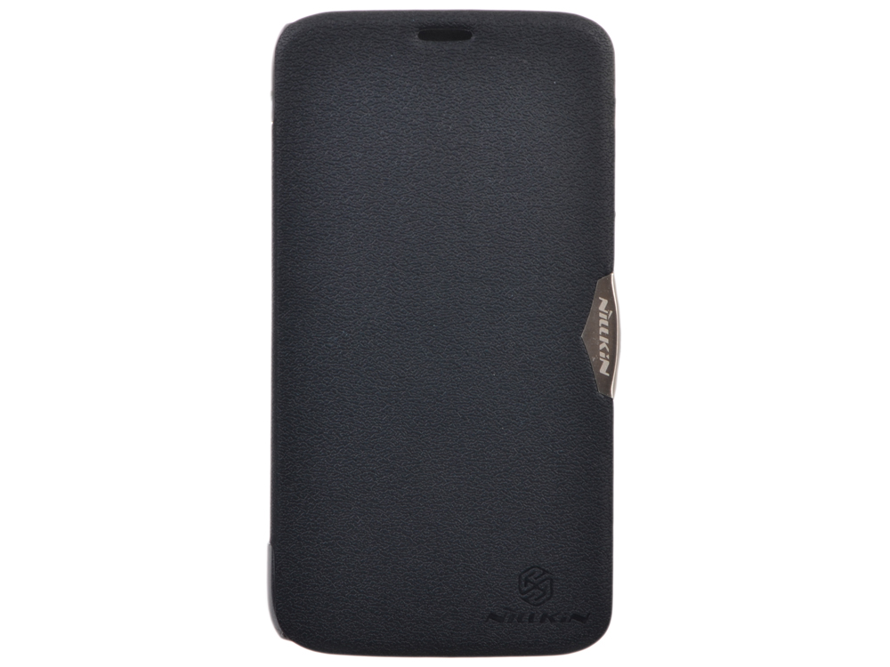 Чехол для смартфона Lenovo A850 Nillkin Fresh leather case Черный