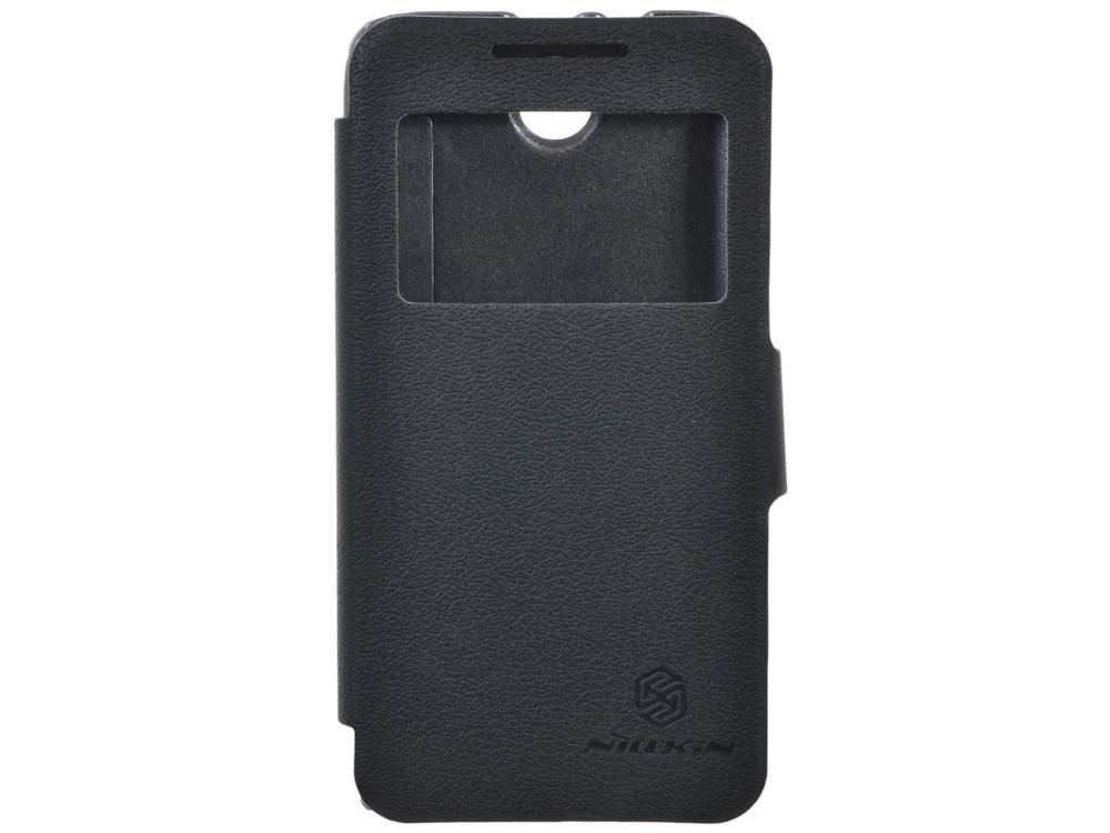 Чехол для смартфона Lenovo A526 Nillkin Fresh Series Leather Case Черный