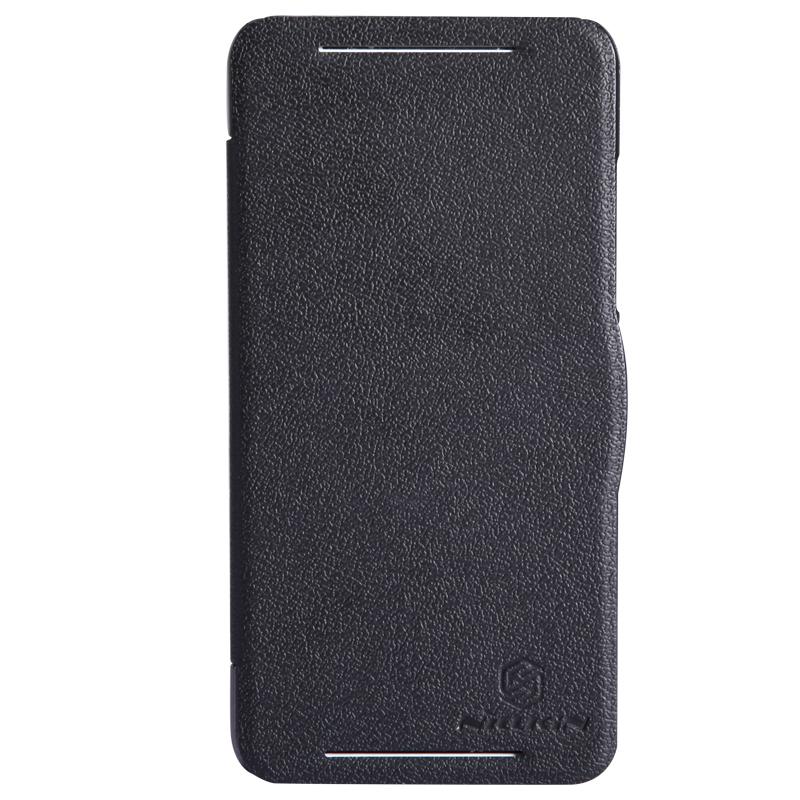 Чехол для смартфона HTC Desire 700/7088 Nillkin Fresh Series Leather Case Черный