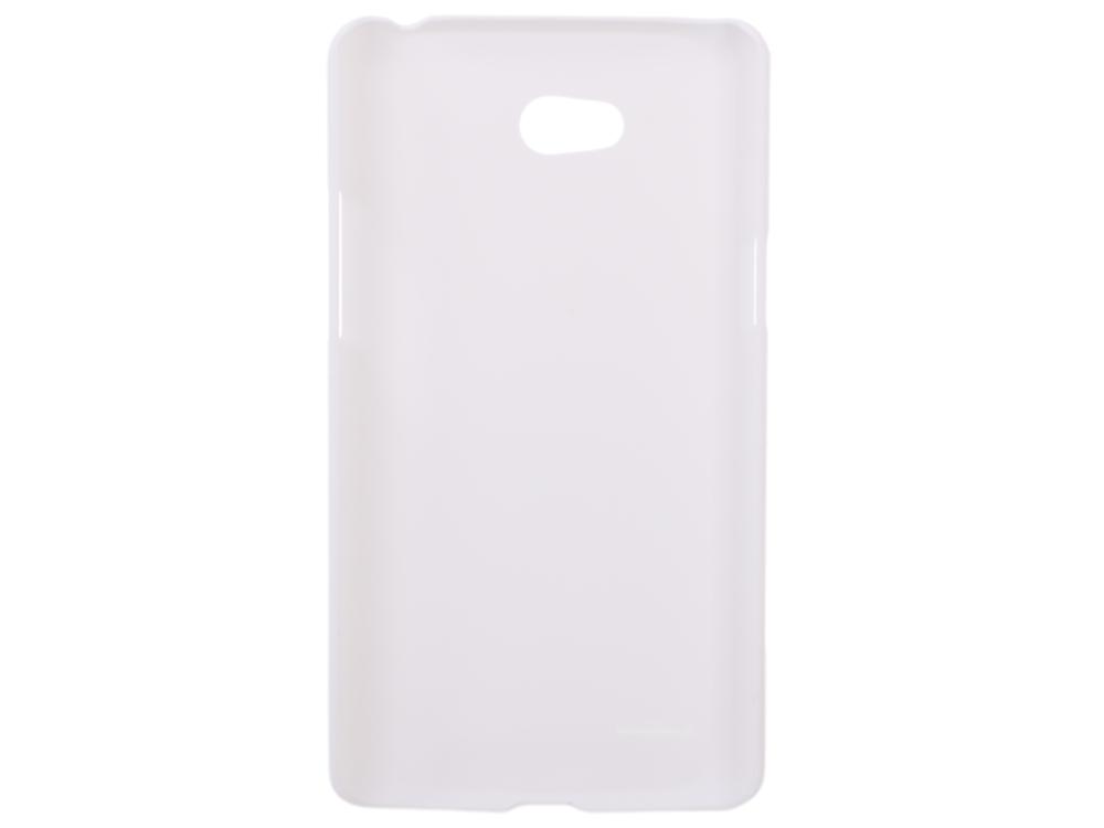 Чехол для смартфона LG L80 (D380) Nillkin Super Frosted Shield Белый чехол для htc desire 616 nillkin super frosted белый