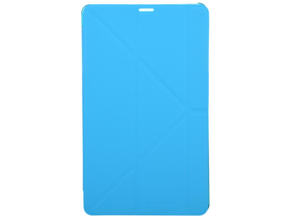 Чехол IT BAGGAGE для планшета SAMSUNG Galaxy TabS 8.4 hard case искус. кожа синий с тонированной задней стенкой ITSSGTS841-4 чехол it baggage для планшета samsung galaxy tab4 10 1 hard case искус кожа бирюзовый с тонированной задней стенкой itssgt4101 6