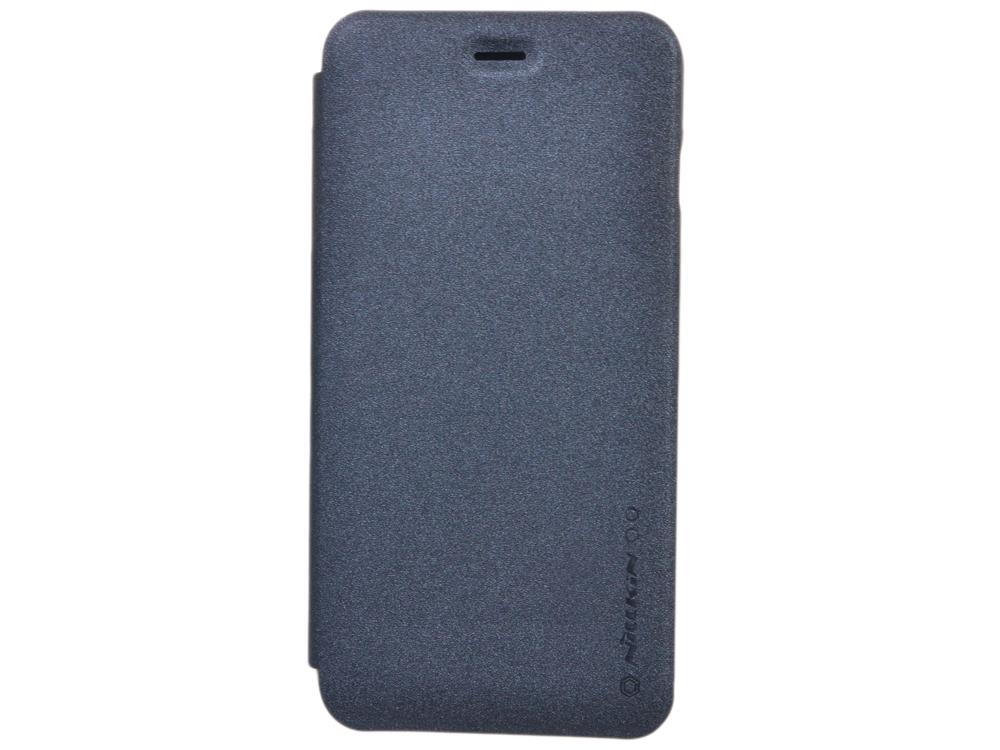 Чехол Nillkin Sparkle leather case для Apple iPhone 6 Plus (Цвет-черный), T-N-AiPhone6P-009