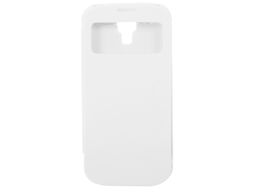 Чехол с аккумулятором Gmini mPower Case MPCS45F White, для Galaxy S4, 4500mAh, Flip cover gmini mpower case mpcs45f white чехол аккумулятор