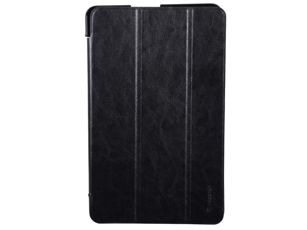 Чехол-книжка для планшета SAMSUNG Galaxy Tab E 9.6 IT BAGGAGE Black флип, искусственная кожа gangxun blackview a8 max корпус высокого качества кожа pu флип чехол kickstand anti shock кошелек для blackview a8 max