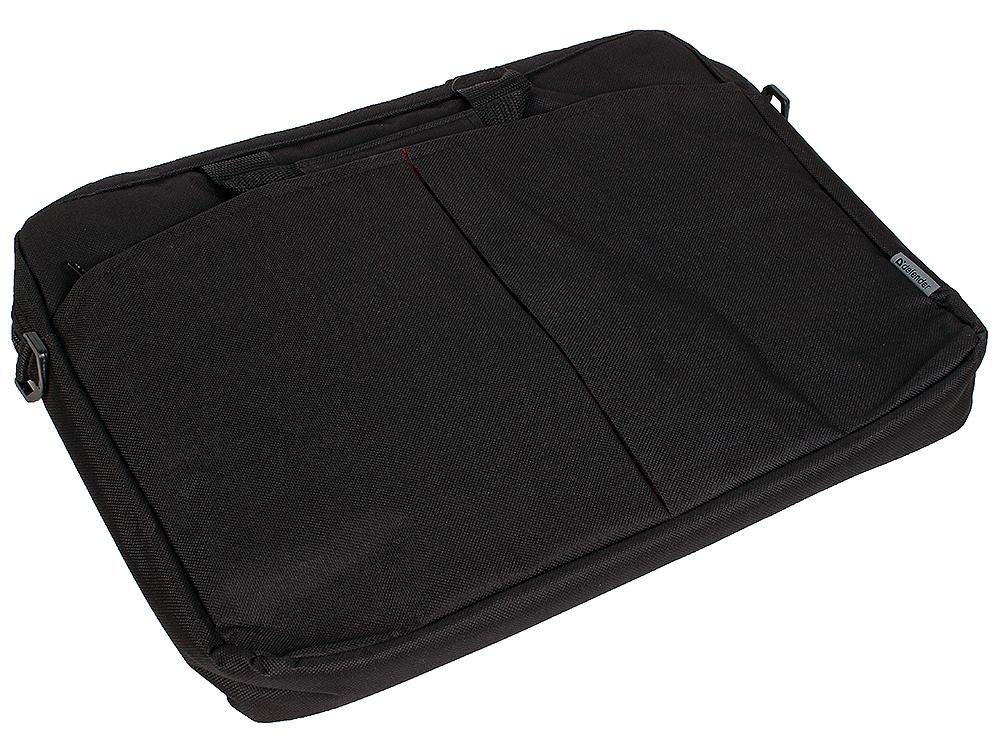 Сумка для ноутбука Defender Iota 15-16 черный, органайзер, карман defender lota 15 16 черная ткань 26007