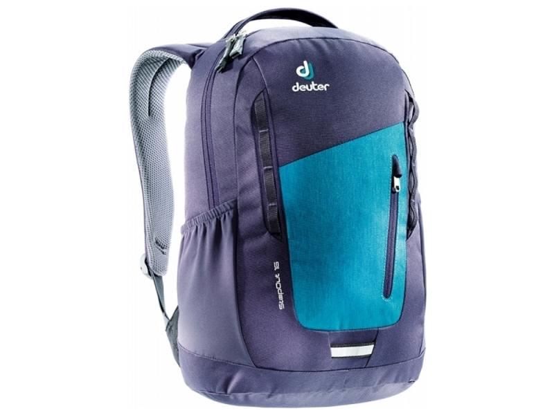 Городской рюкзак Deuter STEPOUT 16 16 л фиолетовый синий 3810315-3327 рюкзак городской polar цвет синий 16 л п7074 04 page 1