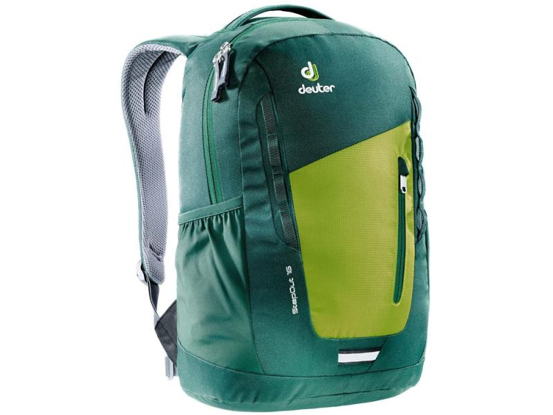 Городской рюкзак Deuter STEPOUT 16 16 л зеленый желтый 3810315-2219 deuter giga blackberry dresscode