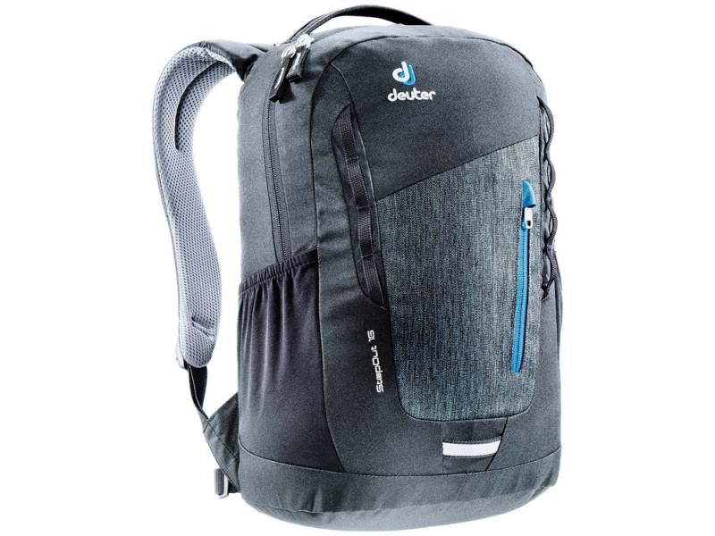 Городской рюкзак Deuter STEPOUT 16 16 л серый 3810315-7712 deuter giga blackberry dresscode