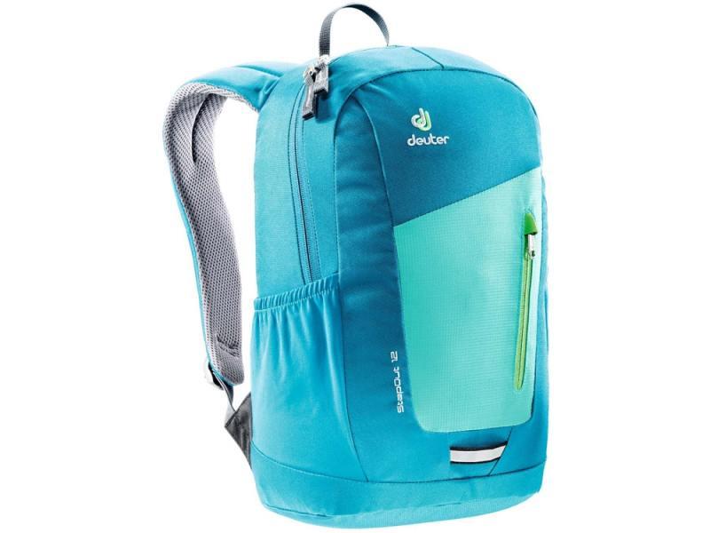Городской рюкзак Deuter STEPOUT 12 12 л зеленый синий 3810215-2307 рюкзак deuter giga цвет коричневый темно синий 28 л