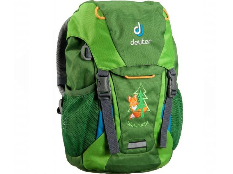 Рюкзак Deuter WALDFUCHS 10 л изумрудный зеленый 3610015-2208 рюкзак deuter race цвет красный 10 л
