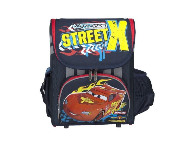 Ранец с наполнением КанцБизнес CRCB-RT2-116 синий рисунок cars пенал street x с наполнением 19 предметов цвет синий