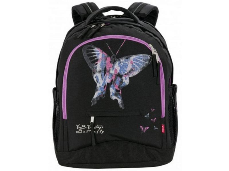 Рюкзак 4YOU Compact Бабочка 26 л черный 112901-726 цена