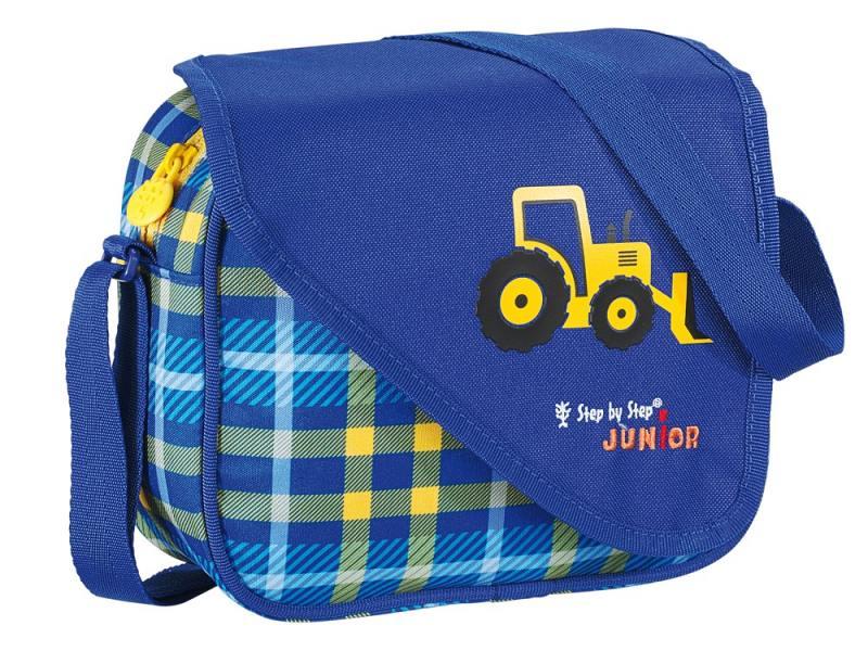Сумка Hama Step By Step Junior Alpbag Boys Excavator 3.5 л синий желтый 129122 сумка step by step alpbag little racer 3 5 л красный зеленый 138408