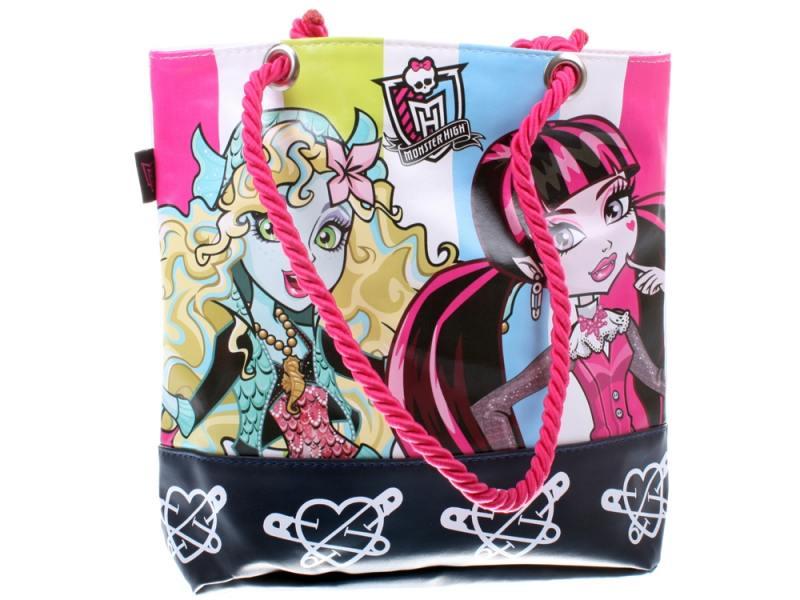 Сумка Monster High УТ000003295 1 л черный рисунок розовый monster high