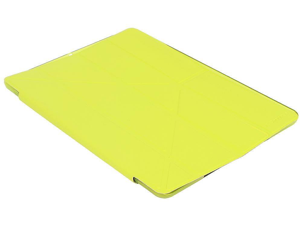 купить Чехол IT BAGGAGE для планшета iPad Air 2 9.7 hard case искус. кожа лайм с тонированной задней стенкой ITIPAD25-5 недорого