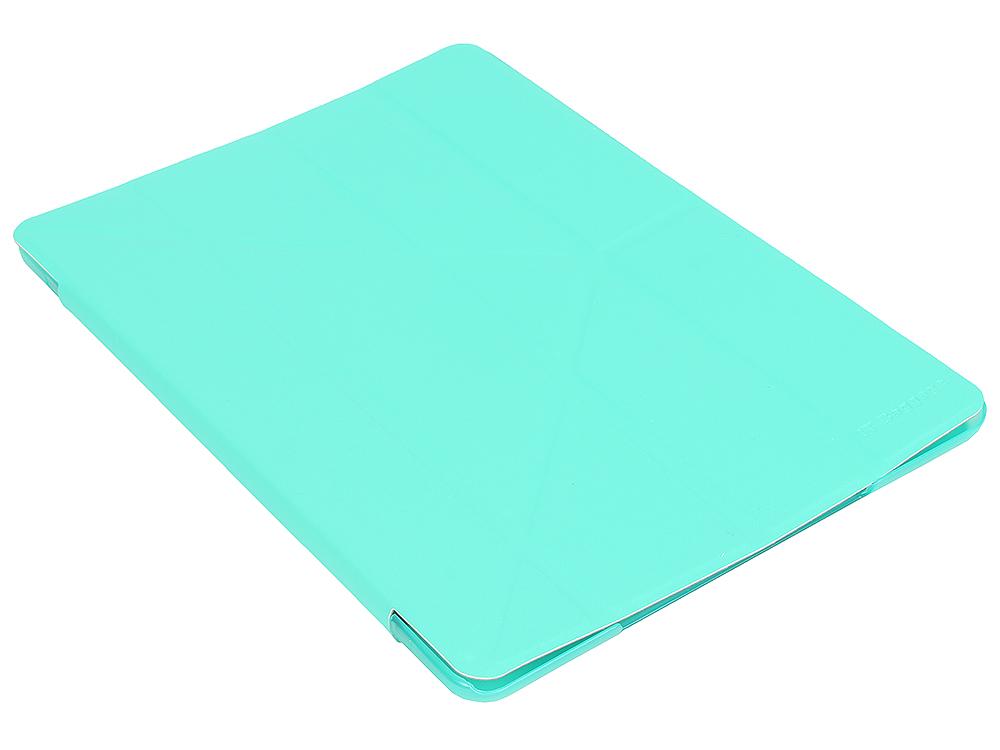 купить Чехол IT BAGGAGE для планшета iPad Air 2 9.7 hard case искус. кожа бирюзовый с тонированной задней стенкой ITIPAD25-6 недорого
