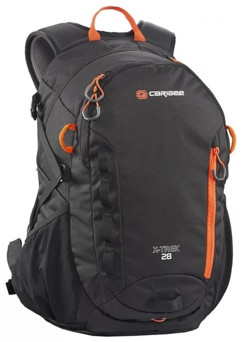 цены Рюкзак CARIBEE X-TREK 28 черный/ОРАНЖЕВЫЙ 6382