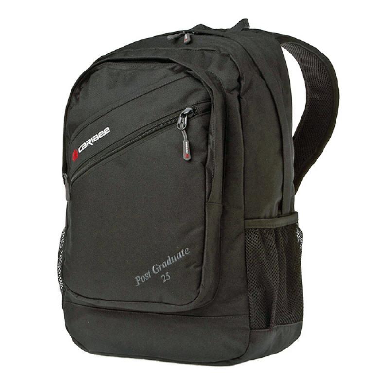 Рюкзак CARIBEE POST GRADUATE черный 6452