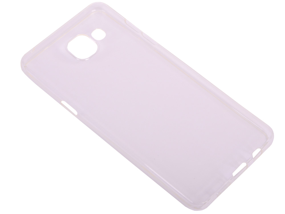 Силиконовый супертонкий чехол для Samsung Galaxy A5 (2016) DF sCase-12 аксессуар чехол samsung galaxy a7 2016 df scase 24 rose gold
