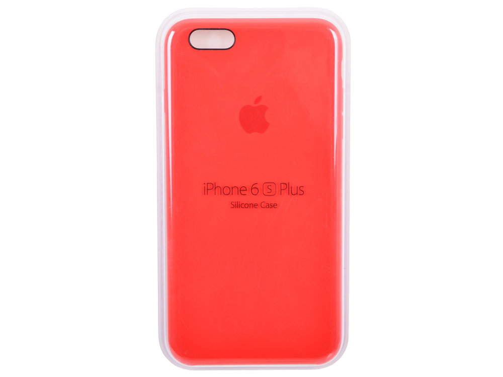 Чехол - обложка iPhone 6s Plus Silicone Case (PRODUCT)RED чехол для apple iphone 6 iphone 6s leather case red