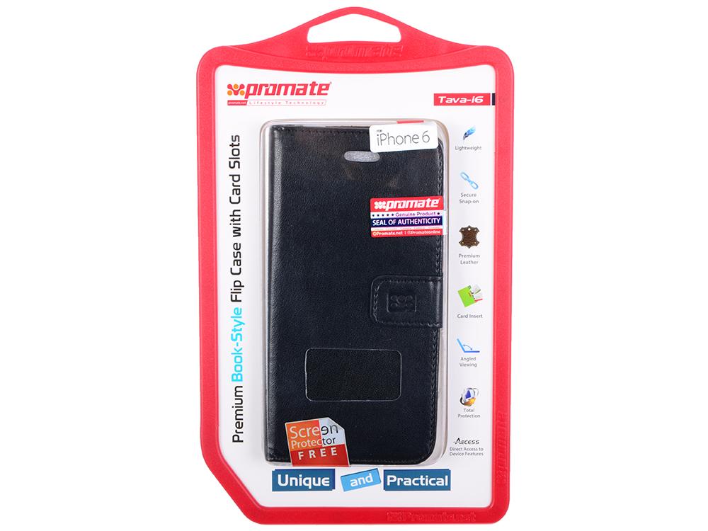 Чехол для iPhone 6 Promate Tava-i6 черный