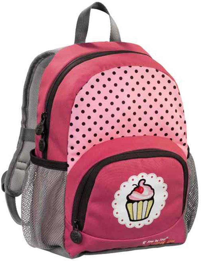Рюкзак Step By Step Junior Dressy Sweet cake красный серый 138406 рюкзак step by step junior dressy excavator blue yellow 129121