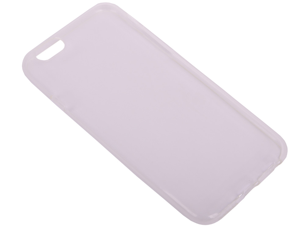 Силиконовый супертонкий чехол для iPhone 6/6S DF iCase-05 черная любовь шаблон мягкий чехол тонкий тпу резиновый силиконовый гель чехол для iphone 6 6s