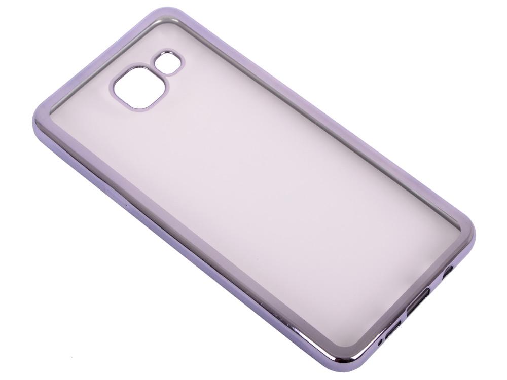 Силиконовый чехол с рамкой для Samsung Galaxy A5 (2016) DF sCase-23 (space gray) аксессуар чехол samsung galaxy a7 2016 df scase 24 rose gold