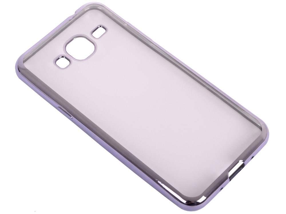 все цены на Силиконовый чехол с рамкой для Samsung Galaxy J3 (2016) DF sCase-28 (space gray) онлайн