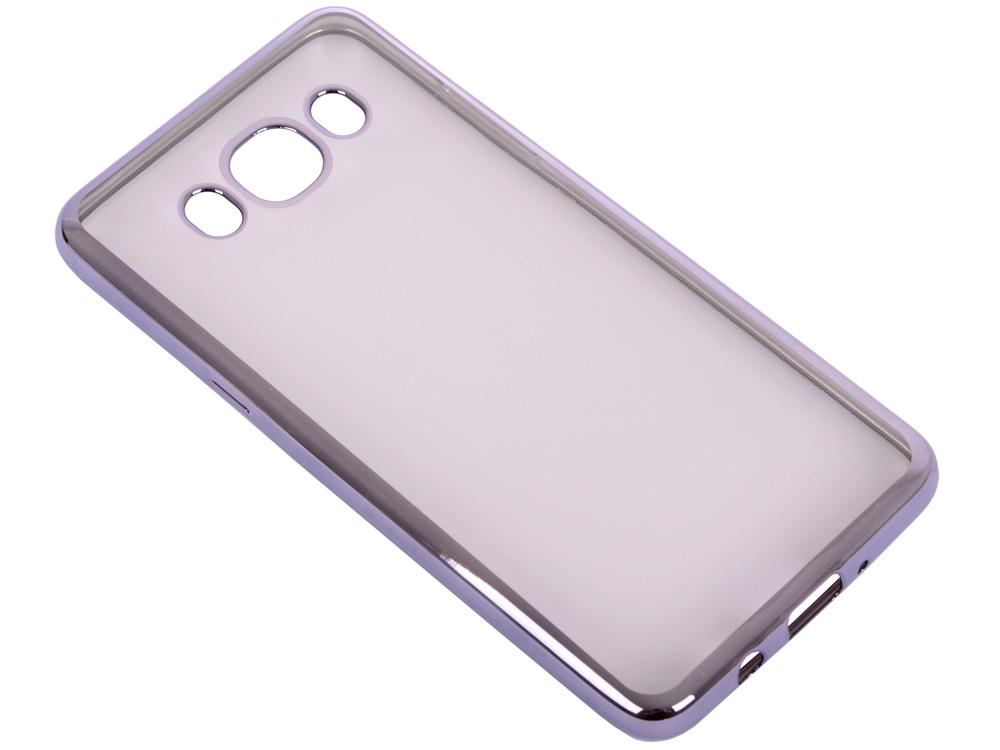 Силиконовый чехол с рамкой для Samsung Galaxy J5 (2016) DF sCase-29 (space gray) аксессуар чехол samsung galaxy a7 2016 df scase 24 rose gold