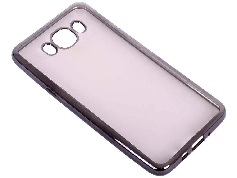 Силиконовый чехол с рамкой для Samsung Galaxy J7 (2016) DF sCase-30 (black) силиконовый чехол с рамкой для samsung galaxy j2 prime grand prime 2016 df scase 36 gold