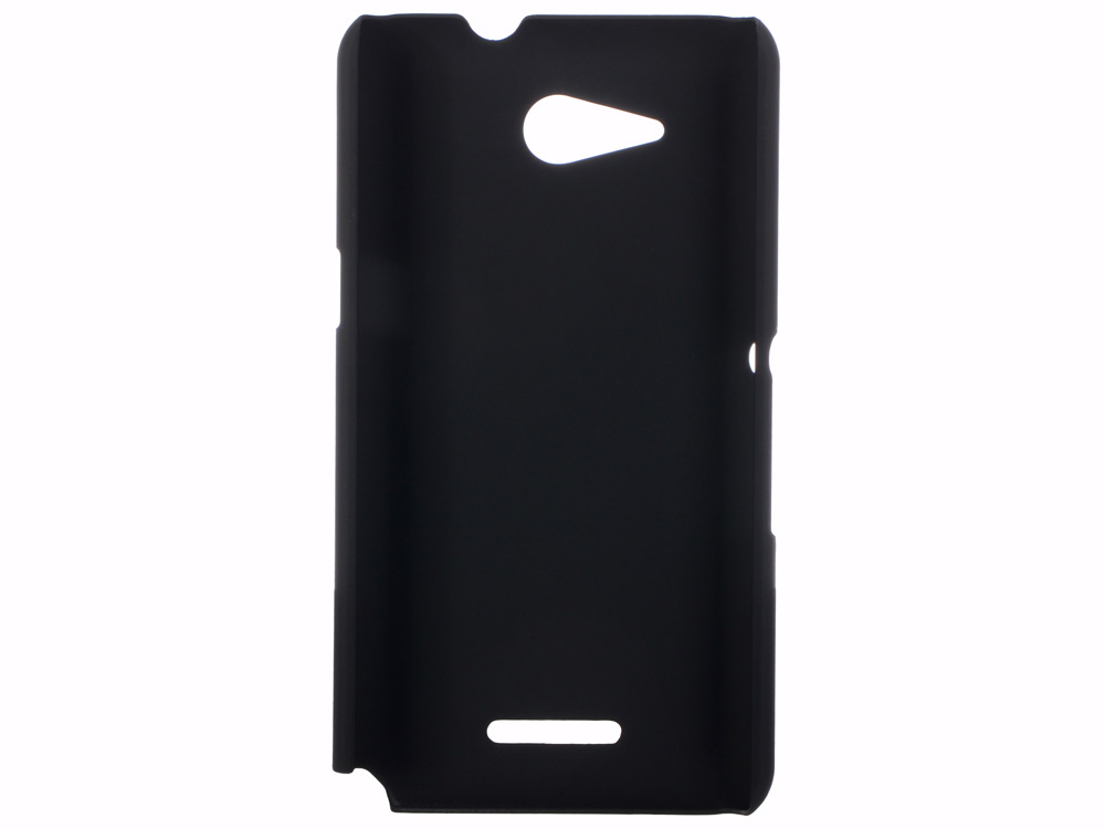 Чехол soft-touch для Sony Xperia E4g DF xSlim-03 mooncase hard rubberized rubber coating devise back чехол для sony xperia e4g black