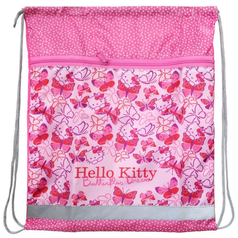 Мешок для обуви ACTION! HELLO KITTY с карманом мешок для обуви оригами hello kitty 41 34 10см 504 0078 hk ch