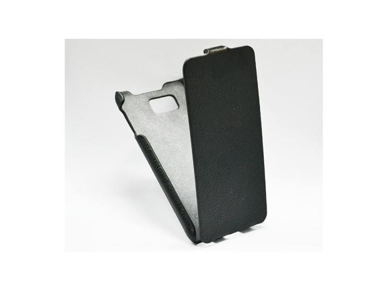 Чехол-книжка для Samsung G850 Galaxy Alpha iBox Premium Black флип, искусственная кожа стоимость