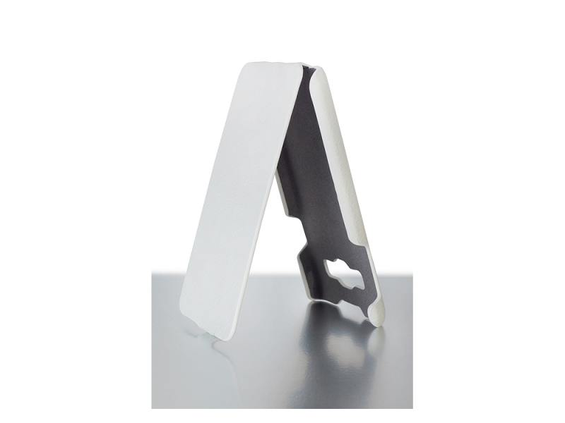 Чехол-книжка для Samsung A3 iBox Premium White флип, искусственная кожа стоимость