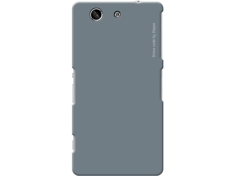 Чехол Deppa Air Case для Sony Xperia Z3\Z4 Compact серый 83193 чехол deppa air case для sony xperia z3 розовый 83140