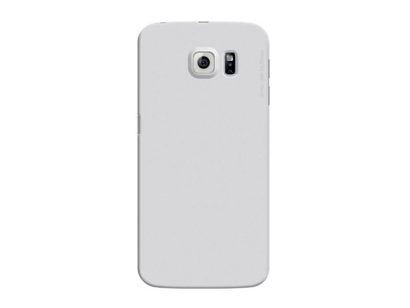 Чехол-накладка для Samsung Galaxy S6 edge Deppa Air Case 83183 Silver клип-кейс, поликарбонат