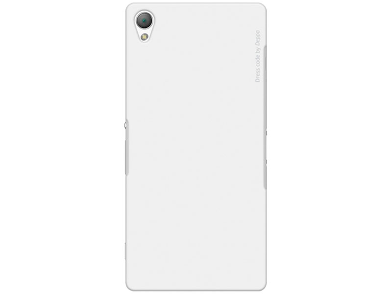 Чехол Deppa Air Case для Sony Xperia Z3 белый 83135 чехол аккумулятор deppa nrg case 2600 mah для iphone 7 белый 33520