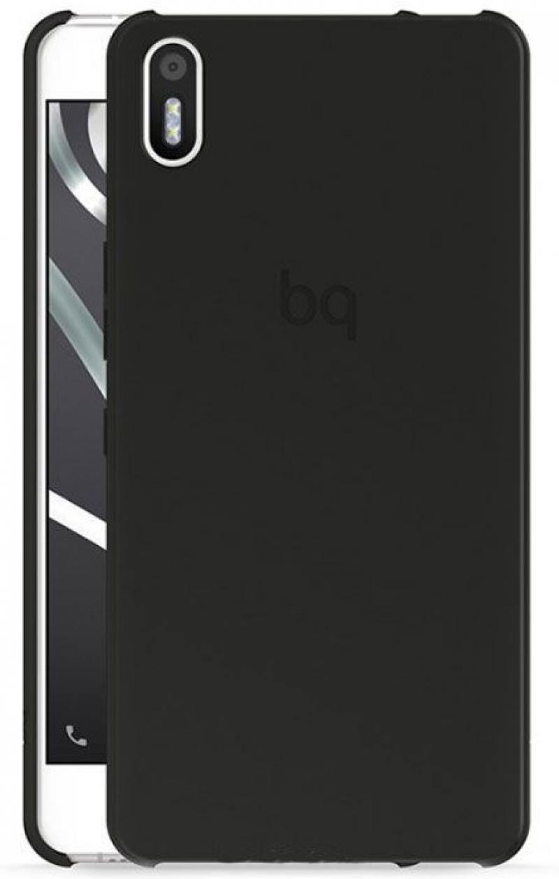 Чехол BQ для BQ Aquaris M5 черный E000605 чехол bq для bq aquaris m5 серый e000594