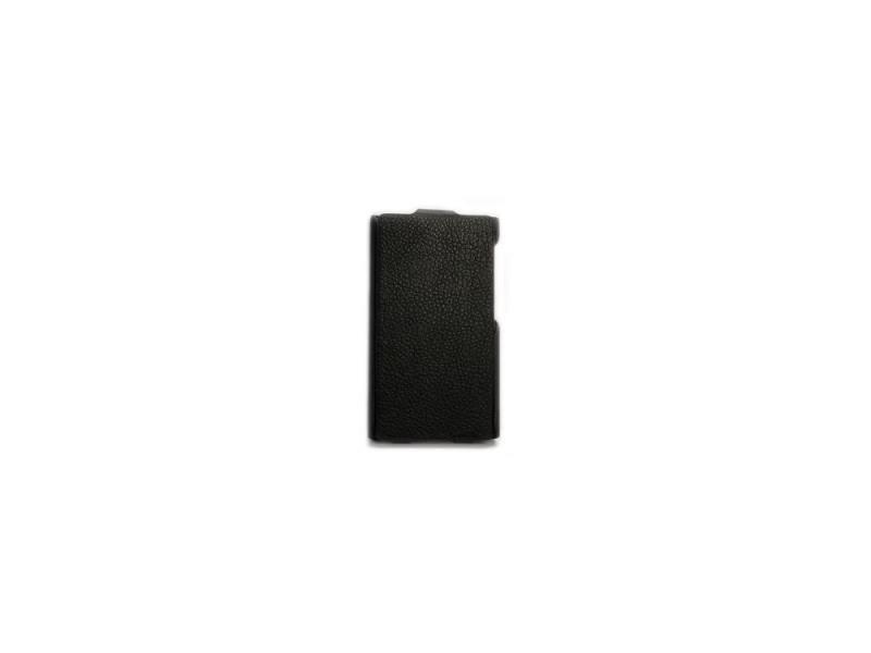Чехол-книжка для Nokia X/X+ iBox Premium Black флип, искусственная кожа