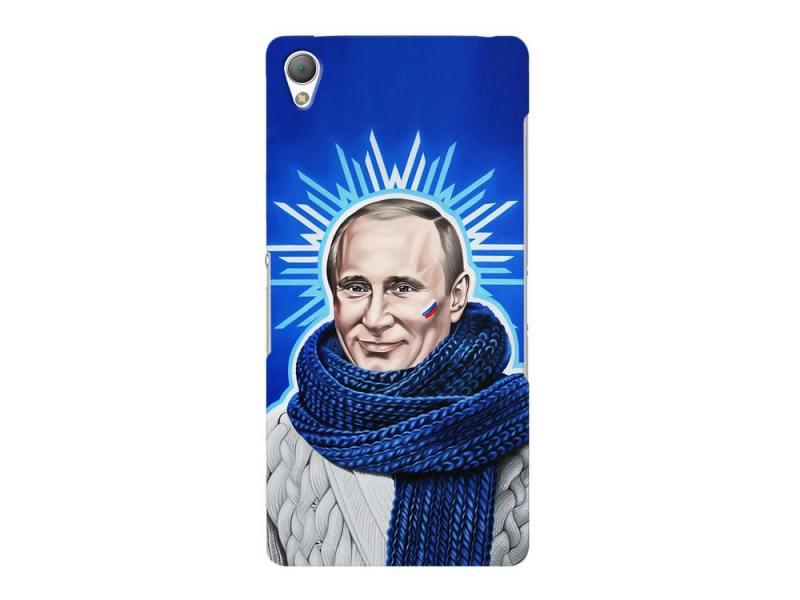 Чехол-накладка для Sony Xperia Z3 Deppa Art Case Person Путин клип-кейс, поликарбонат