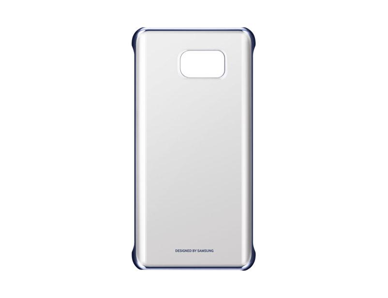Чехол-накладка для Samsung Galaxy Note 5 СlCover Samsung EF-QN920CBEGRU Black клип-кейс, поликарбонат чехол samsung ef qn920csegru для samsung galaxy note 5 сlcover серебристый прозрачный