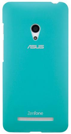 Чехол Asus для ZenFone A500 PF-01 COLOR CASE голубой 90XB00RA-BSL2I0 покрывало стеганое сирень клавиши 200 х 220 см