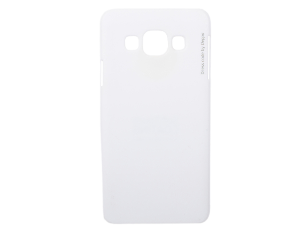 Чехол-накладка для Samsung Galaxy A3 Deppa Air Case 83156 White клип-кейс, поликарбонат deppa air case чехол для samsung galaxy s4 mini white